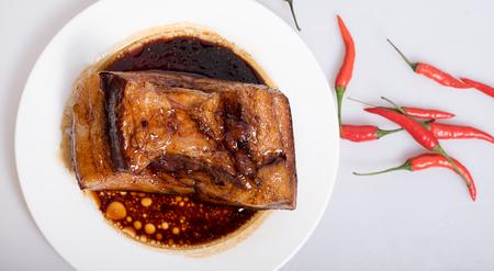 red braised: Braised Pork Stock Photo