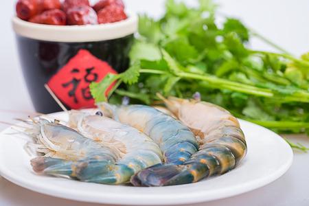 jumbo shrimp: Shrimp