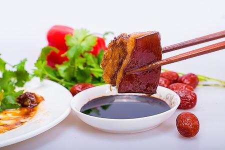 red braised: Pork belly