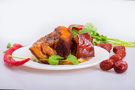 dongpo: Braised Pork Stock Photo