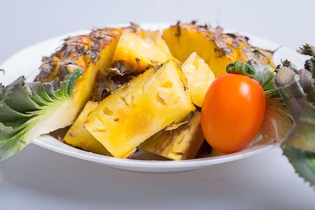 cosmetologies: Pineapple and cherry tomato