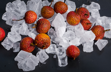 ascorbic acid: Lychee with ice cube