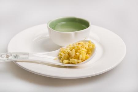 fullframes: fresh ginger tea Stock Photo