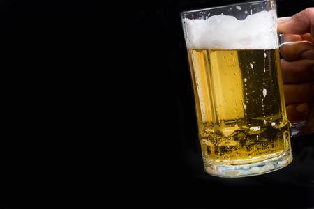 receptacle: beer Stock Photo