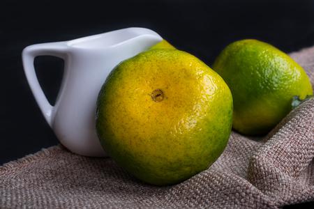 flesh colour: tangerine