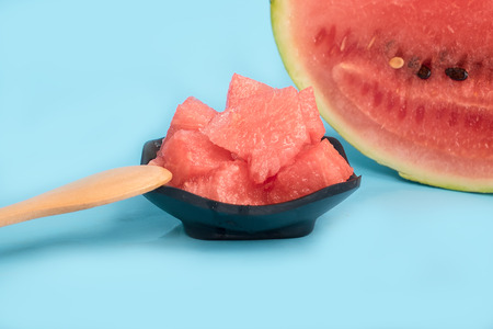 refreshed: Watermelon Stock Photo