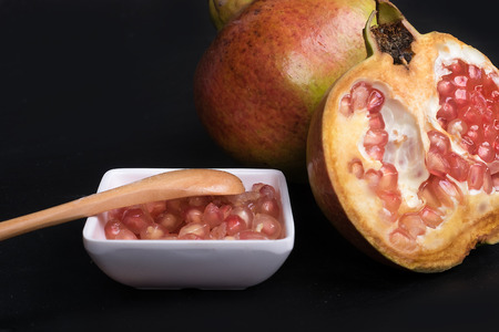 gules: pomegranate Stock Photo