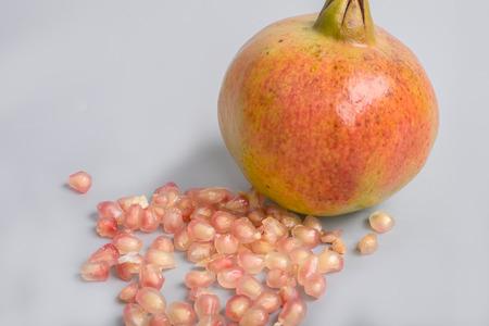 juicing: pomegranate Stock Photo