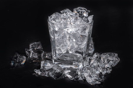 icecube: a glass of ice cube