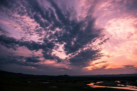 behold: Sunset Stock Photo