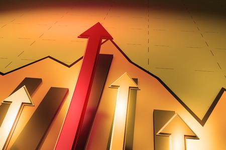 incremental: Arrow Stock Photo