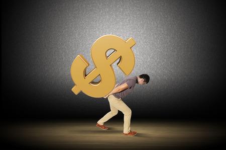 financial burden: Slaves to money