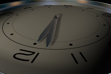 job deadline: A clock that represents the passage of time