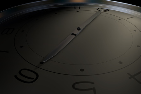 represents: A clock that represents the passage of time