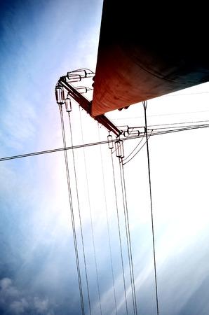 telephonic: Telegraph poles