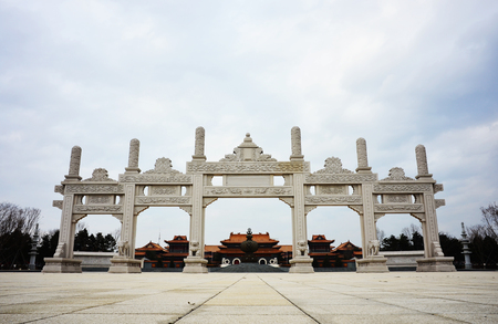 godlike: Chinas ancient temple, the door Editorial
