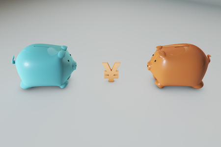 strive: money and piggy bank