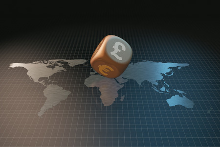 speculative: World map and dice