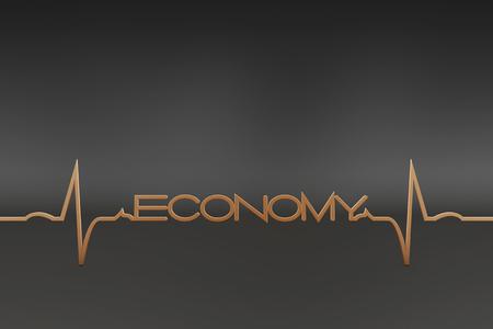 ecg: economy with ECG wave
