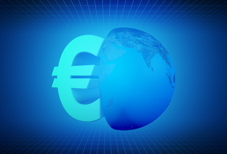 currency symbol: Finance and finance, currency symbol Stock Photo