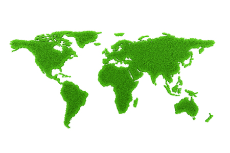 green world: Green world map