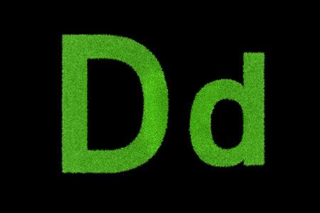 Grüne Buchstaben, Dd