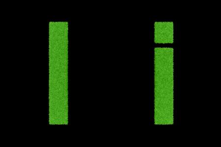 Grüne Briefe, Ii Lizenzfreie Bilder