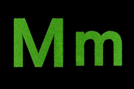 Grüne Buchstaben, Mm