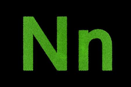Grüne Buchstaben, Nn