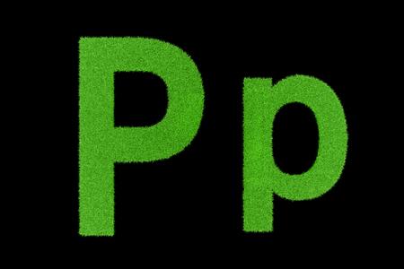 Grüne Buchstaben, Pp