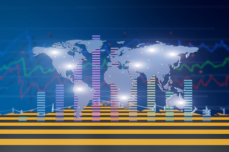 Global data statistics, financial and economic situation