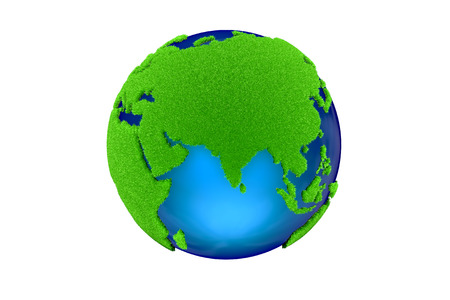 Global low carbon, green earth
