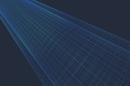 coincidence: Seamless background of space time frame tunnel