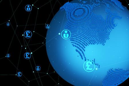 Global finance, currency symbol