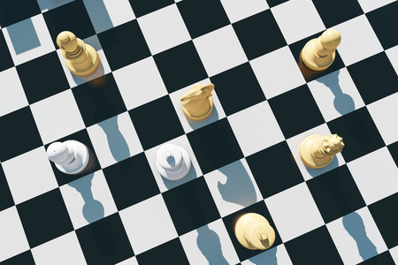 Chess and chess board