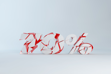 drawback: Three dimensional creative figure, percentage of broken