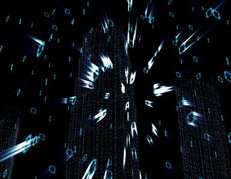 coded: Digital technology array