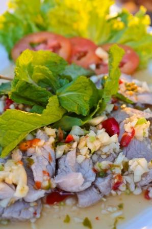 tremp�e: Limonade de porc tremp�, la nourriture tha�e