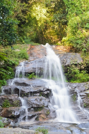 Monthatha Falls  Small waterfall on Doi Suthep mountain  Chiang Mai Thailand photo