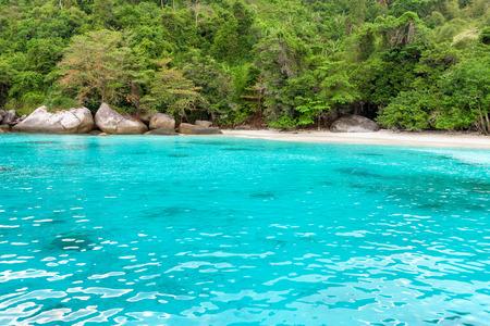 honey moon: Beautiful green blue sea   at Honeymoon Bay