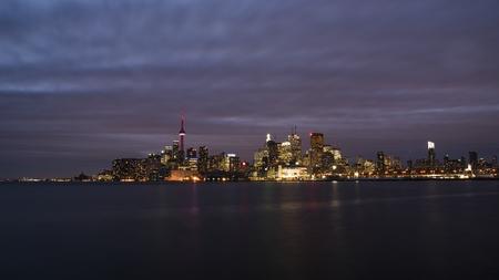 building cn tower: Toronto at Night