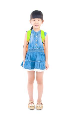 one people: Lovely asian preschooler portrait Stock Photo