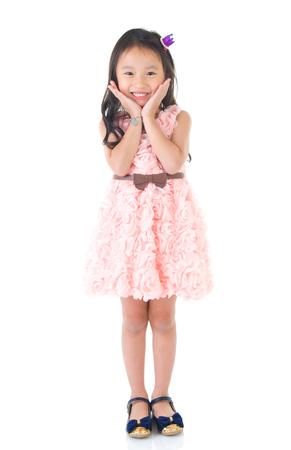 Portrait of a beautiful asian kid