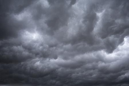 하늘에 비 구름의 화신 오후 시간 스톡 콘텐츠