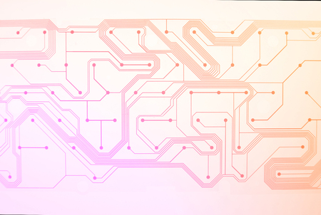Background concept Electronic circuit board Abstract line shape
