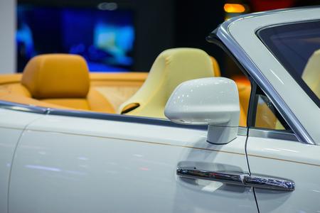 Design expensive luxury car models. Stock Photo