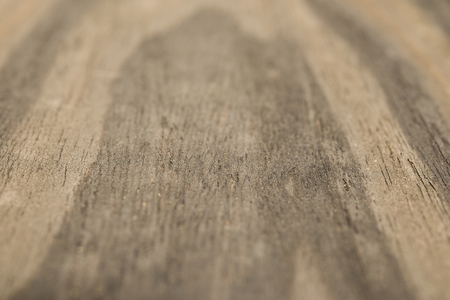 Wood veneer with a beautiful natural pattern in the perspective with a depth dimension.