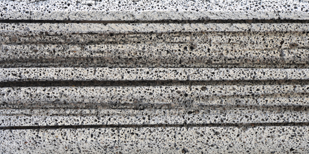 Texture of concrete in horizontal line