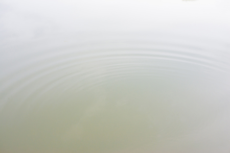 Surface water distribution into circular waves and abstract shapes.