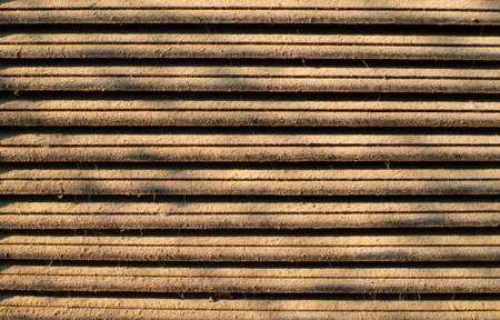 Dirty brown wood pattern texture Stock Photo